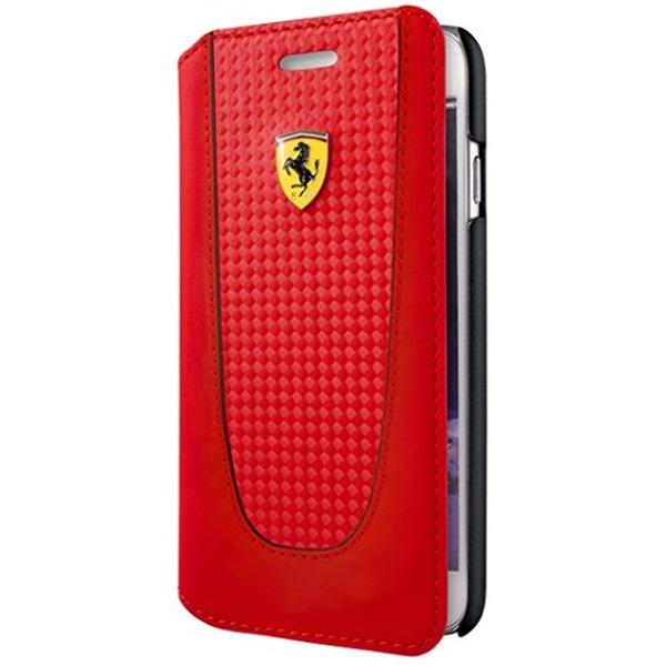Ferrari SF Pit Stop iPhone 7 Plus kinyitható piros tok - 2