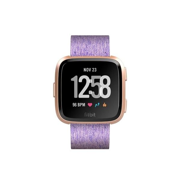 Fitbit Versa Special Edition (NFC) levendula fonott okosóra - 2