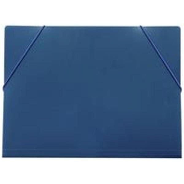 Fokus A4 PP kék gumis mappa - 1