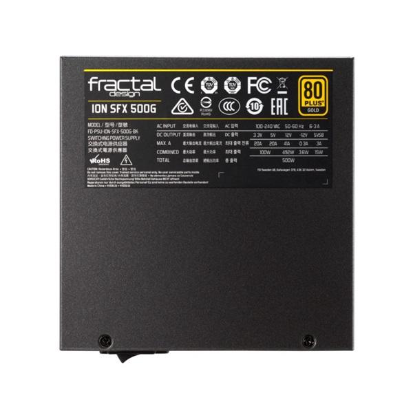Fractal Design 500W ION SFX-L Gold 500W tápegység - 10