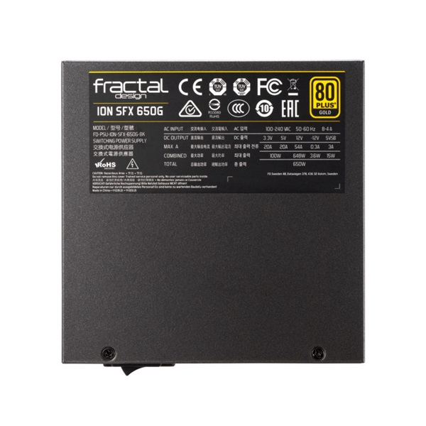 Fractal Design 650W ION SFX-L Gold 650W tápegység - 10