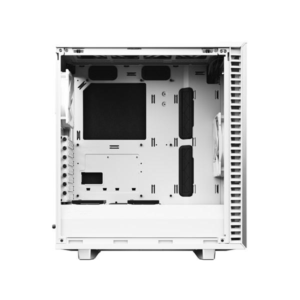 Fractal Design Define 7 Compact Fehér (Táp nélküli) ATX ház - 7