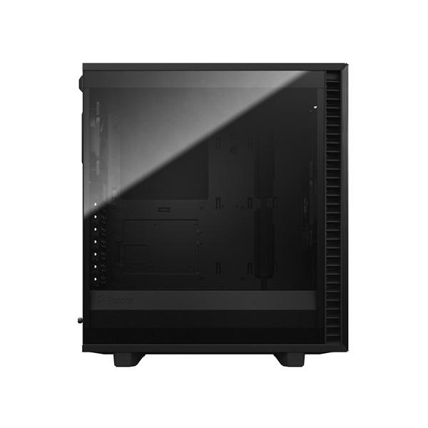 Fractal Design Define 7 Compact Fekete ablakos (Táp nélküli) ATX ház - 3
