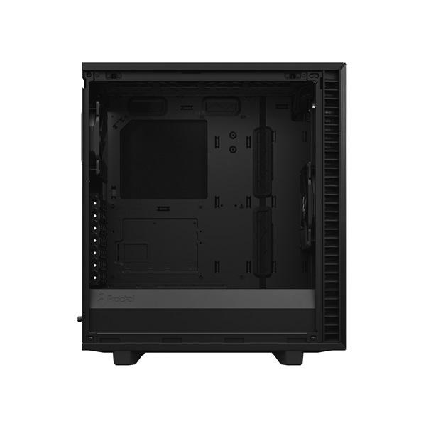Fractal Design Define 7 Compact Fekete ablakos (Táp nélküli) ATX ház - 7