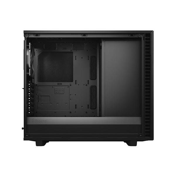 Fractal Design Define 7 Fekete (Táp nélküli) E-ATX ház - 7