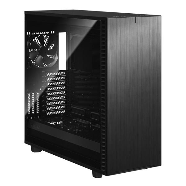 Fractal Design Define 7 XL Fekete ablakos (Táp nélküli) E-ATX ház - 2