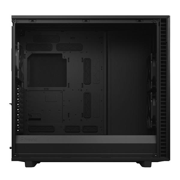Fractal Design Define 7 XL Fekete ablakos (Táp nélküli) E-ATX ház - 7