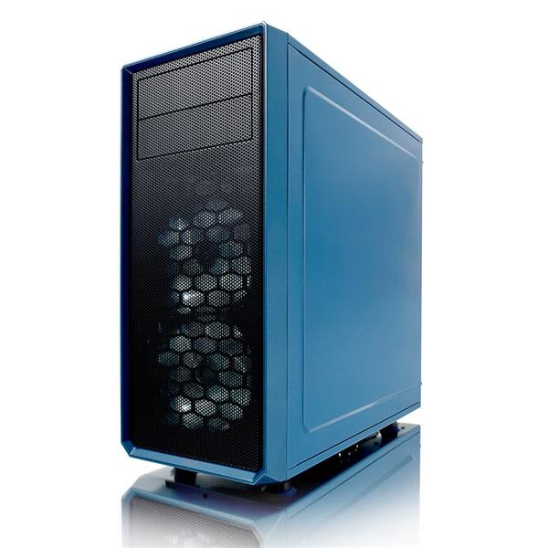 Fractal Design Focus G Kék ablakos (Táp nélküli) ATX ház - 2