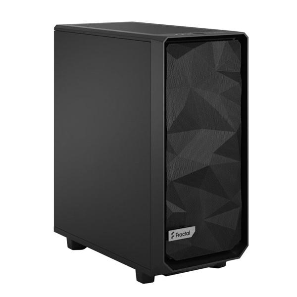 Fractal Design Meshify 2 Compact  Fekete (Táp nélküli) ATX ház - 2