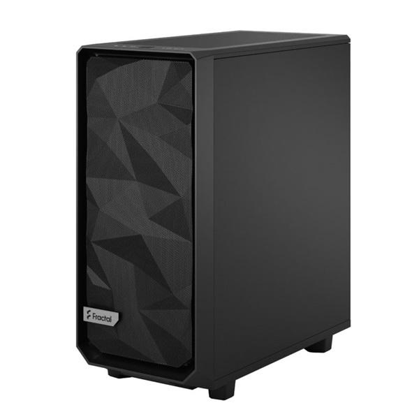 Fractal Design Meshify 2 Compact  Fekete (Táp nélküli) ATX ház - 8