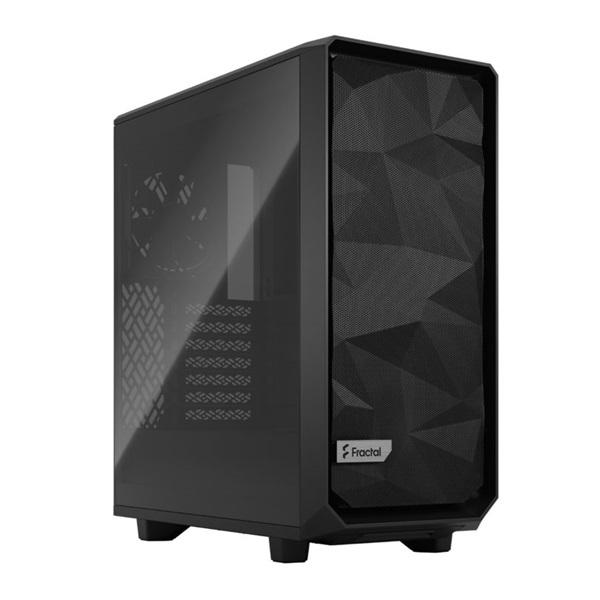 Fractal Design Meshify 2 Compact  Fekete világos ablakos (Táp nélküli) ATX ház - 1