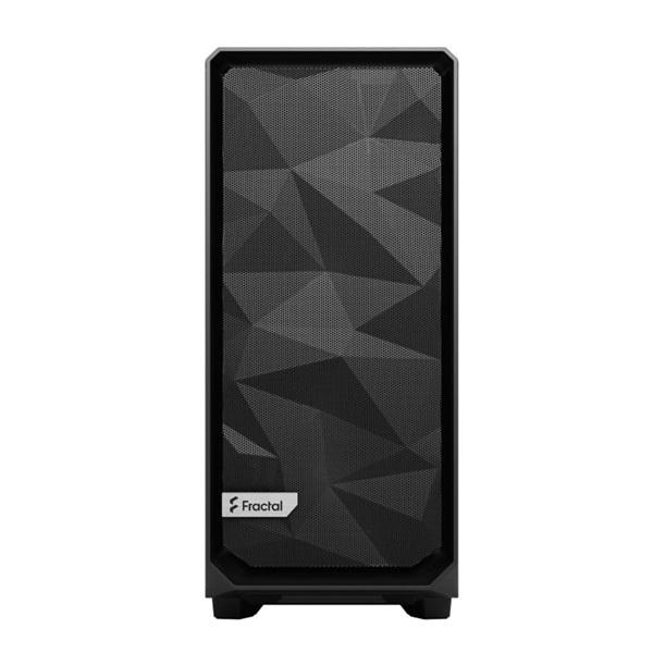 Fractal Design Meshify 2 Compact  Fekete világos ablakos (Táp nélküli) ATX ház - 10