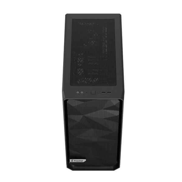 Fractal Design Meshify 2 Compact  Fekete világos ablakos (Táp nélküli) ATX ház - 11