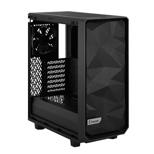 Fractal Design Meshify 2 Compact  Fekete világos ablakos (Táp nélküli) ATX ház - 12