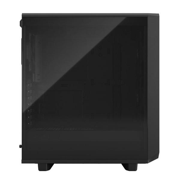 Fractal Design Meshify 2 Compact  Fekete világos ablakos (Táp nélküli) ATX ház - 3