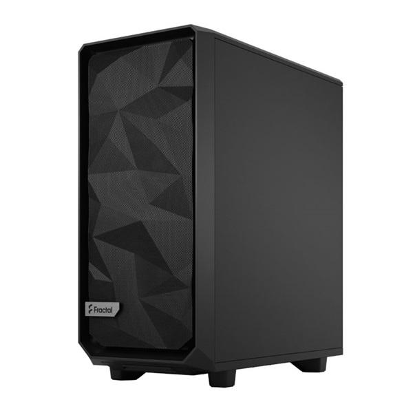 Fractal Design Meshify 2 Compact  Fekete világos ablakos (Táp nélküli) ATX ház - 9