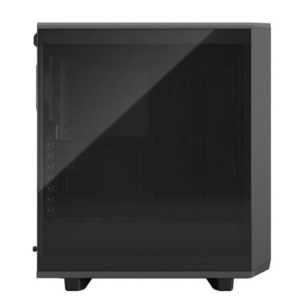 Fractal Design Meshify 2 Compact  Szürke világos ablakos (Táp nélküli) ATX ház - 3