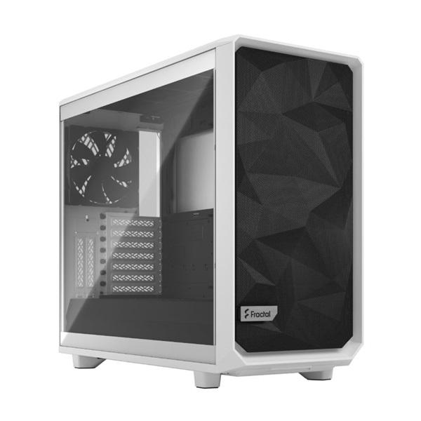 Fractal Design Meshify 2 Fehér világos ablakos (Táp nélküli) E-ATX ház - 1