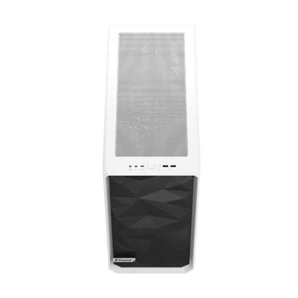 Fractal Design Meshify 2 Fehér világos ablakos (Táp nélküli) E-ATX ház - 11