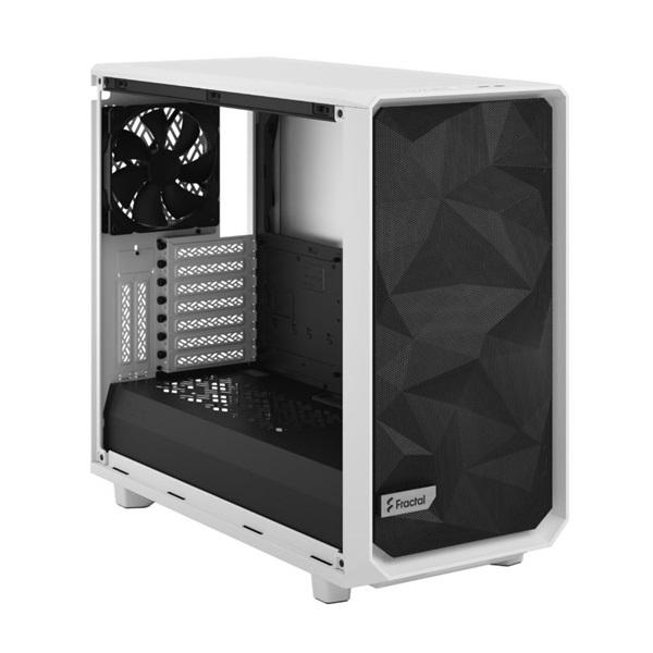 Fractal Design Meshify 2 Fehér világos ablakos (Táp nélküli) E-ATX ház - 12