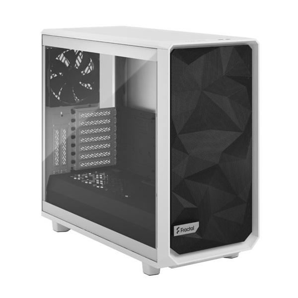 Fractal Design Meshify 2 Fehér világos ablakos (Táp nélküli) E-ATX ház - 2