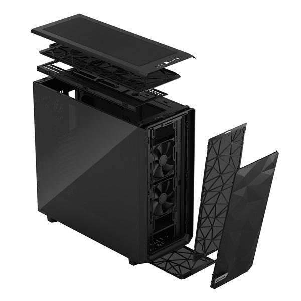 Fractal Design Meshify 2 XL Fekete sötét ablakos (Táp nélküli) E-ATX ház - 22
