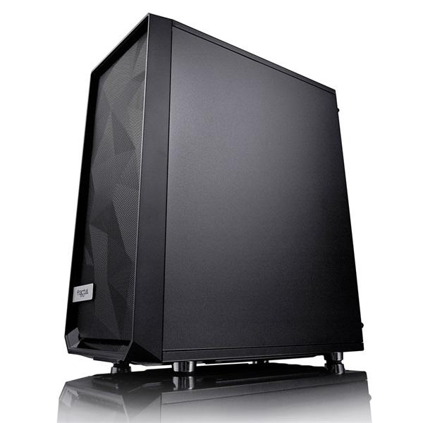 Fractal Design Meshify C Fekete ablakos (Táp nélküli) ATX ház - 2