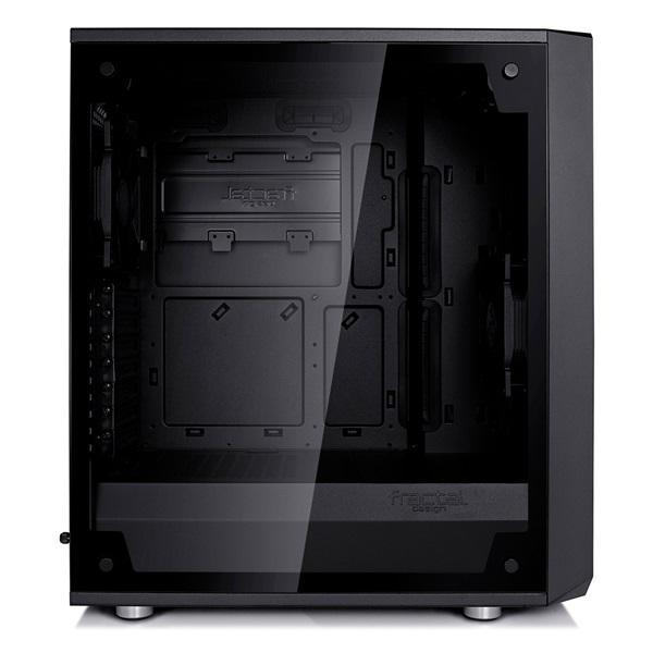 Fractal Design Meshify C Fekete ablakos (Táp nélküli) ATX ház - 4