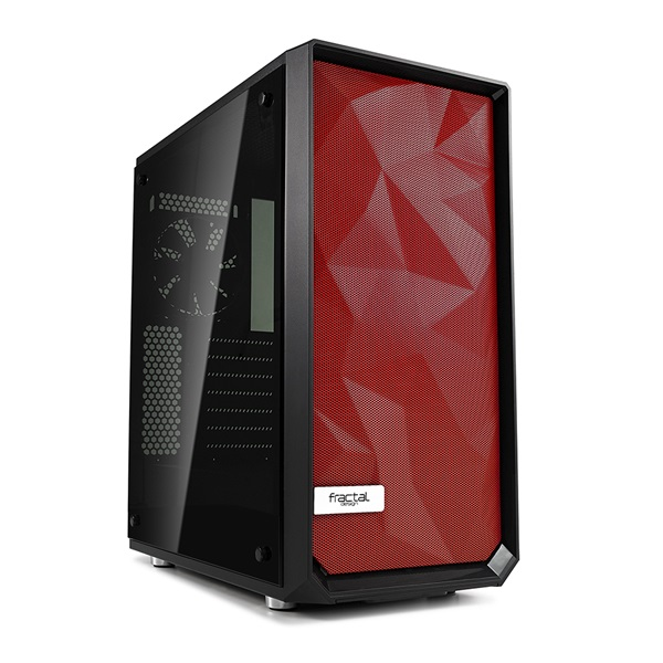 Fractal Design Meshify C Replacement front red - 3