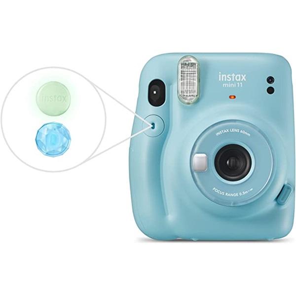 Fujifilm Instax Mini 11 kék instant fényképezőgép - 4