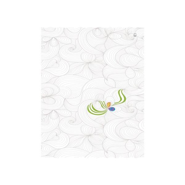 Fűzfő Design A4 81-32 színezős vonalas füzet - 4