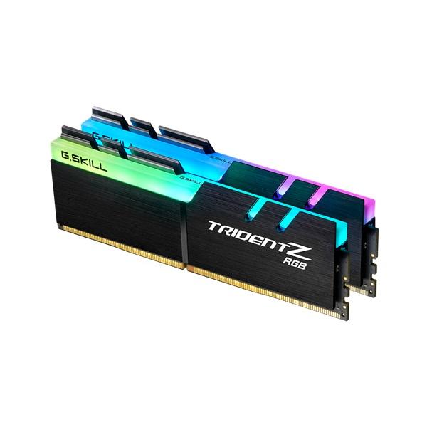G.Skill 16GB/3200MHz DDR-4 Trident Z RGB (Kit! 2db 8GB) (F4-3200C16D-16GTZR) memória - 1