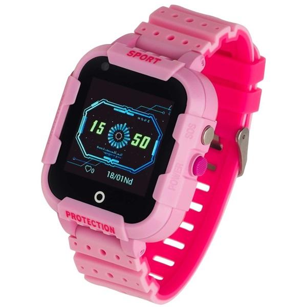 Garett Kids 4G rózsaszín okosóra - 1