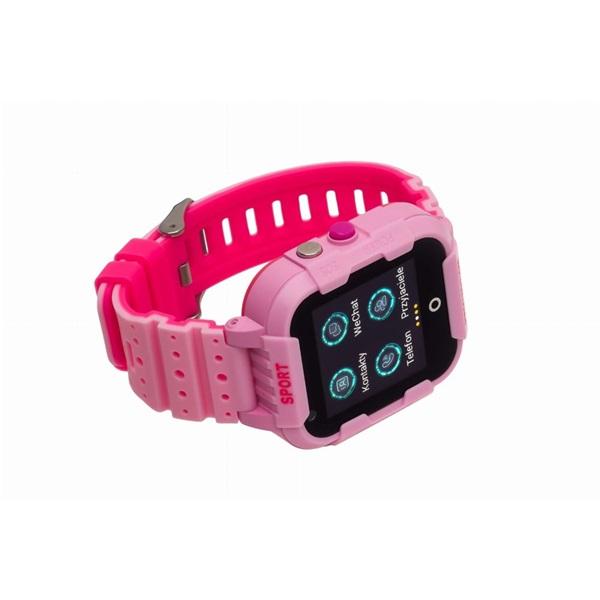 Garett Kids 4G rózsaszín okosóra - 3