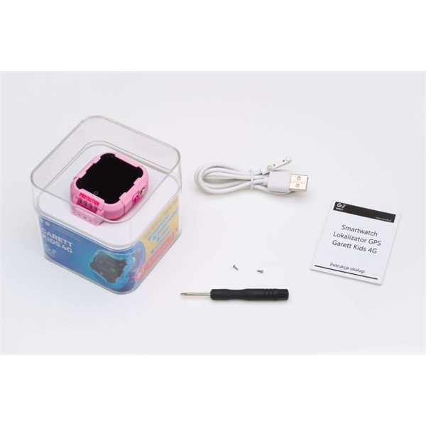 Garett Kids 4G rózsaszín okosóra - 4