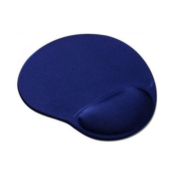 Gembird MP-GEL-B zselés csuklótámaszos kék egérpad - 1