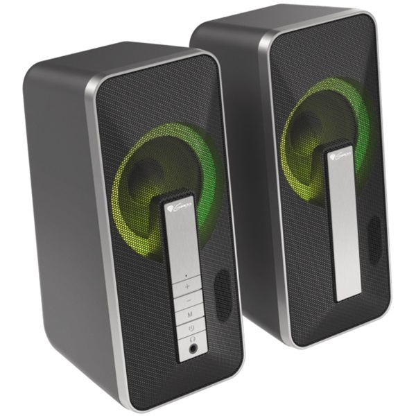 Genesis Helium 100BT 2.0 RGB USB gamer hangszóró - 1