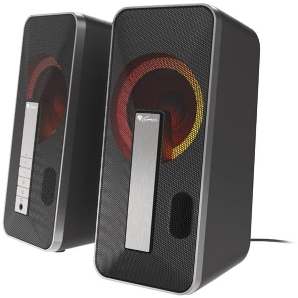 Genesis Helium 100BT 2.0 RGB USB gamer hangszóró - 3