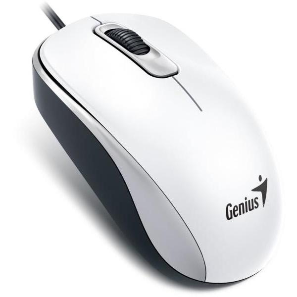 Genius DX-110 USB fehér egér - 1