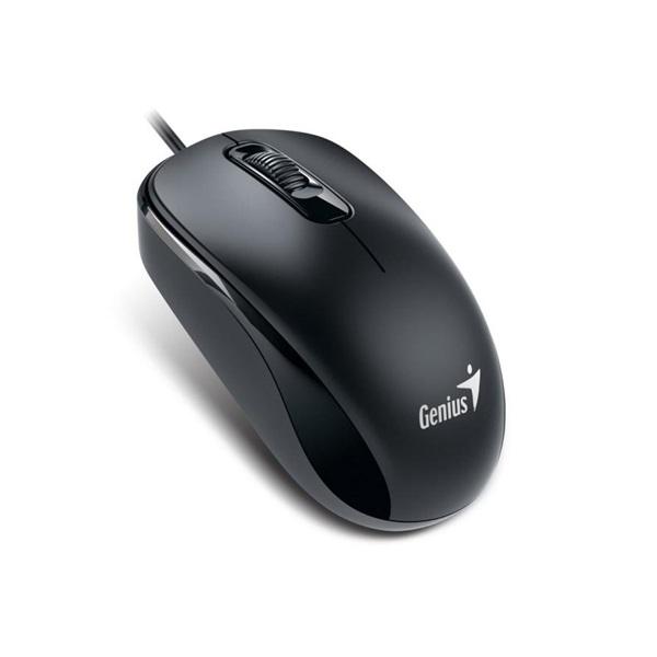 Genius DX-110 USB fekete egér - 1