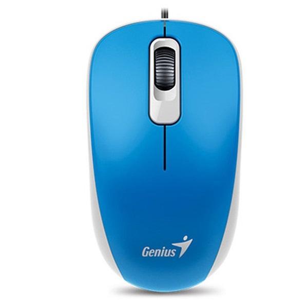 Genius DX-110 USB kék-fekete egér - 2