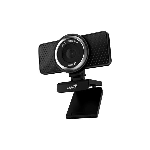 Genius Ecam 8000 1080p fekete webkamera - 3