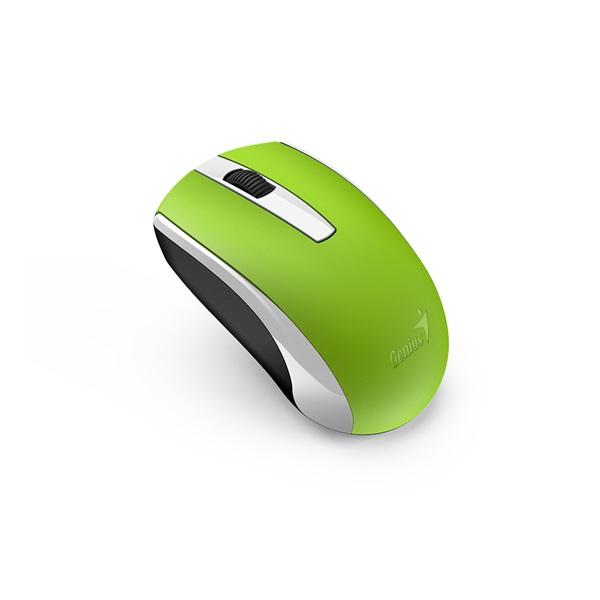 Genius ECO-8100 vezeték nélküli újratölthető zöld egér - 1