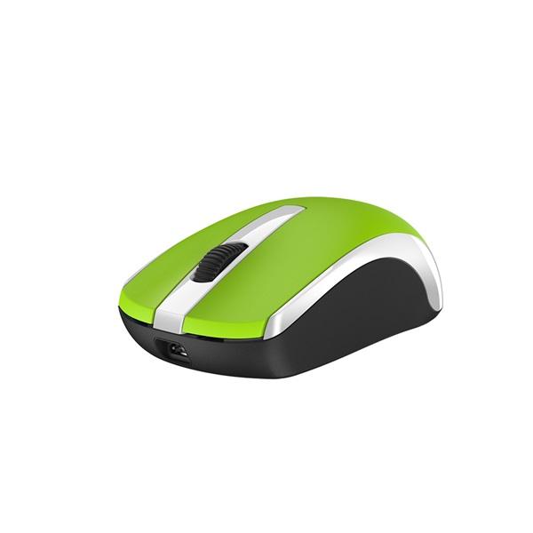 Genius ECO-8100 vezeték nélküli újratölthető zöld egér - 2