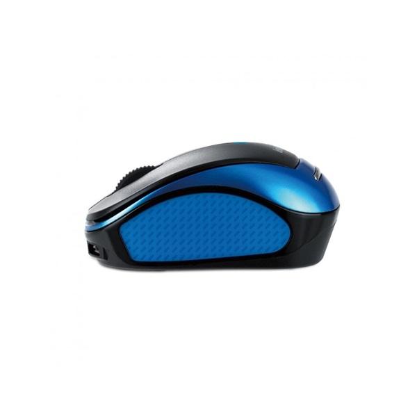 Genius MicroTraveler 9000R V3 USB kék-fekete notebook egér - 3