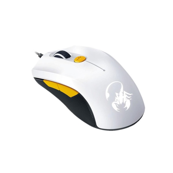 Genius Scorpion M6-600 fehér-narancs gamer egér - 2
