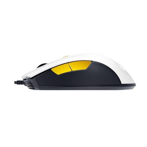 Genius Scorpion M6-600 fehér-narancs gamer egér - 3