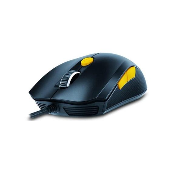 Genius Scorpion M6-600 fekete-narancs gamer egér - 2