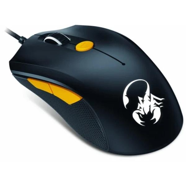 Genius Scorpion M6-600 fekete-narancs gamer egér - 3