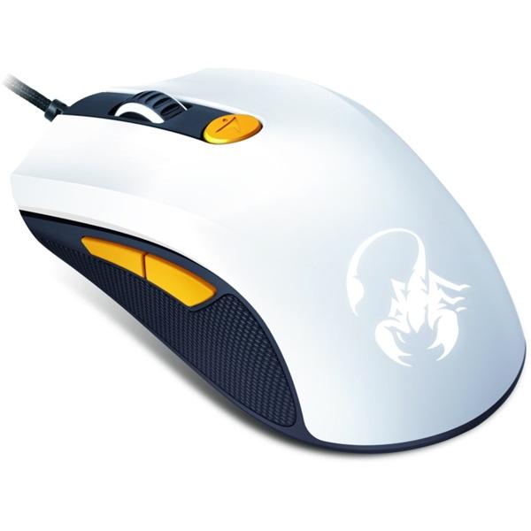 Genius Scorpion M8-610 fehér-narancs gamer egér - 1